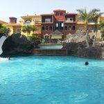 alloggi sulla piscina laguna