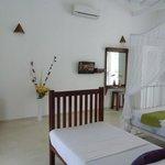 Spacious bedroom in Villa