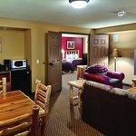 Living Room Area of Cinema Suite