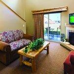 Living Room Area of Loft Suite