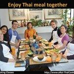 Enjoy prepared meal together
