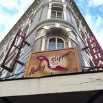 the Pelhan hotel and the Ruby Slipper