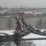 Le pont sur le Danube