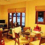 Beach Front Villa - Living Room
