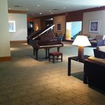 piano on 1st floor lobby