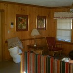 Cabin 12 Living Room