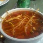 My favorite chicken tortilla soup!