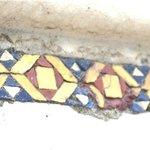 detail of mosaic tile on Church Orvieto
