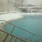 Scorcio piscina esterna