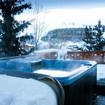 Hot tub with fantastic view