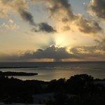 Sunrise over Savannes Bay and the Atlantic Ocean