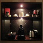 Mini bar et Nespresso
