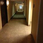 Dirty hallway