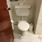 70s style toilet