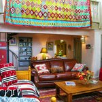 Spacious living area and beautiful decor Red Hawk