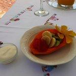 Hemmagjord fruktsallad à la Venita (till frukosten)