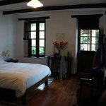 Our lovely bedroom at El Albergue