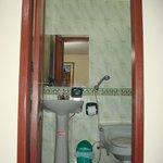 1st private bathroom