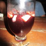 Sangria was flowing