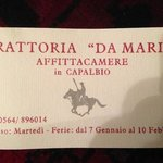 Photo de Ristorante da Maria