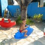 meu filho brincando