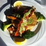 barrimundi fish dish