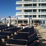 pool deck -- good ocean views