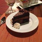 Mmmm! Chocolate cake