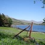 View of Loch Scridain from the Hotels 54 Acre Grounds and Gardens