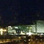 View of Harpa concert hall from room