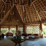 The main lobby, palapa style.