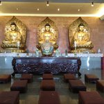 The famous Buddhist temple in Batam