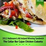 Cellar Bar and Restaurant- Winner of Helmann's All Ireland Best Sandwich