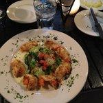 Shrimps w/escarole
