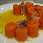 salmon with carrots