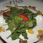 Spinich and Goat Cheese Salad