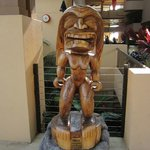 Hawaiian statue