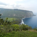 The View Of Waipio Valley From Above