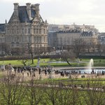 View of Louvre and Tulleries