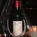 1989 bottle of Grange Hermitage