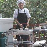 Omelette man
