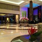 The lobby and the lobby bar