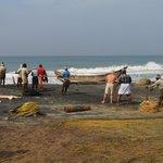 Fischer am Odayam-Beach