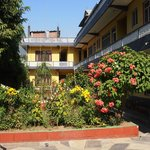 pushpa guest house garden