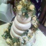 Wedding cake from patisserie leila