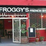 the froggy's french retaurant in soi paniad chang