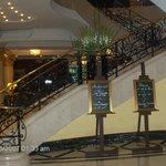 Η είσοδος του ξενοδοχείου