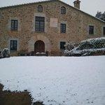 preciosa la masia nevada, no tuvimos la suerte de verlo es una foto de un marc