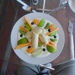 Healthy fruit based breakfast!