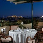Virtus Rooftop Restaurant with Acropolis view